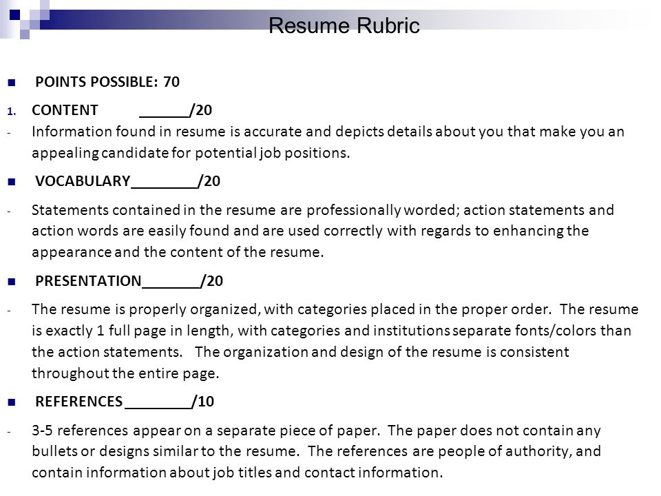 How To Write A Resume Resume A Summary Of Work Experience