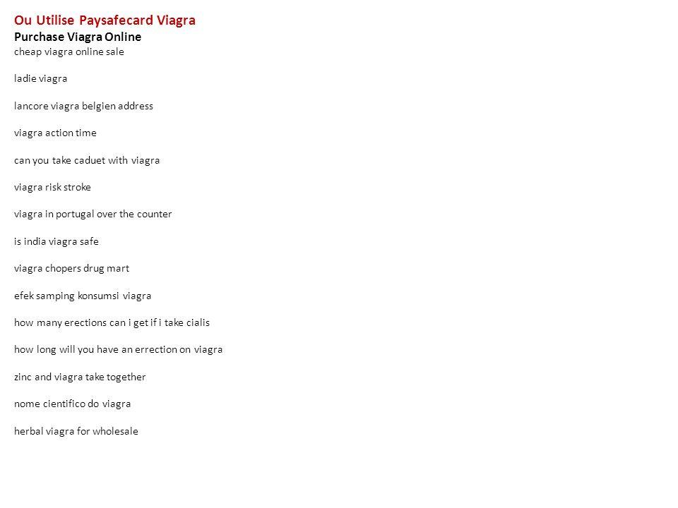 paysafecard acheter viagra