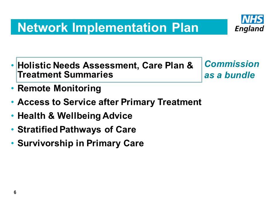 6 Network Implementation Plan