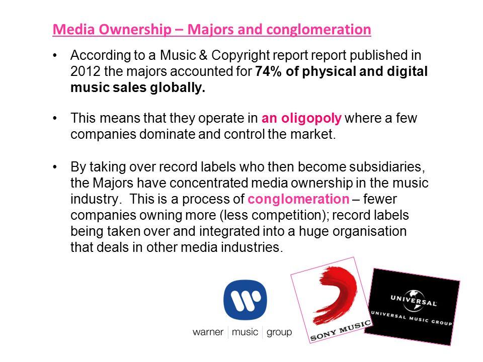 music industry oligopoly