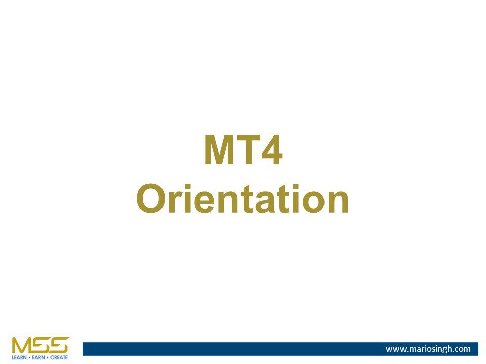 MT4 Orientation  MT4 Orientation  - ppt download