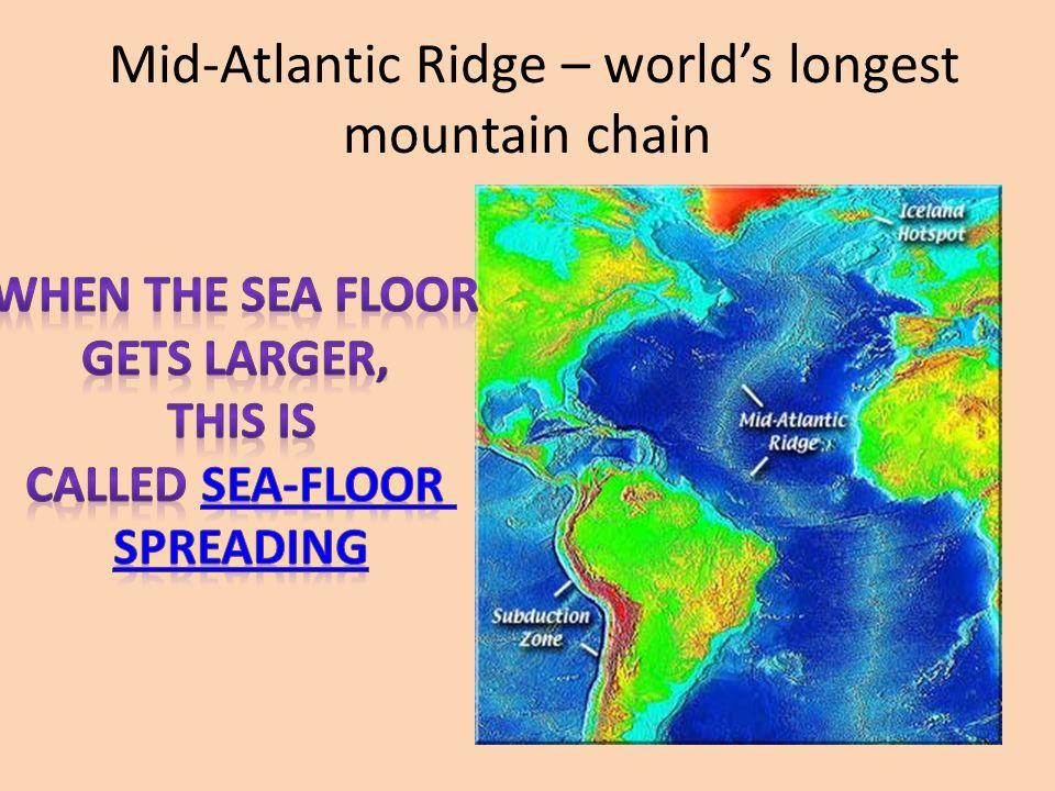 Divergent Boundary Mid Atlantic Ridge World S Longest Mountain