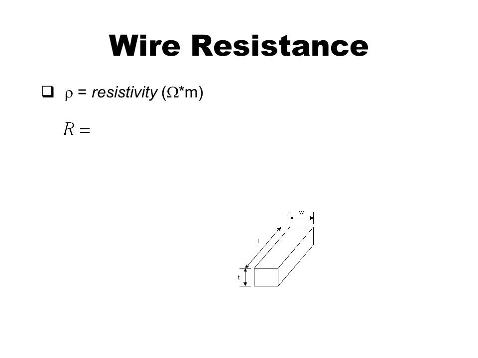 a piece of wire on the resistance essay In this piece of coursework, i am going to investigate what affects the resistance of a piece of wire wire is made up of atoms electric current is a flow of electrons, and it is these electrons that collide with the nucleus of the atoms every time this happens, it causes resistance the build up of friction is what produces the heat.