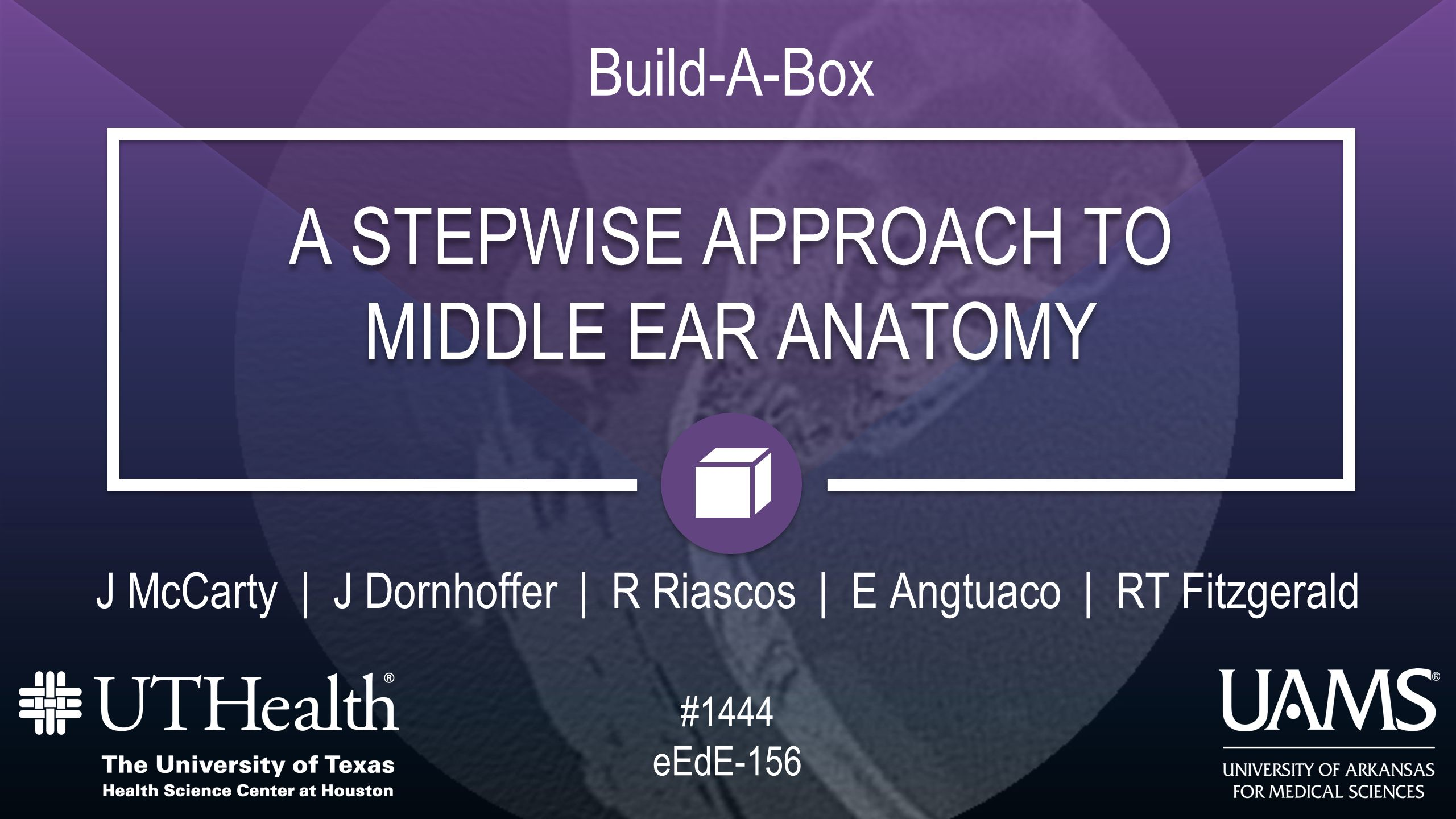 A STEPWISE APPROACH TO MIDDLE EAR ANATOMY A STEPWISE APPROACH TO ...