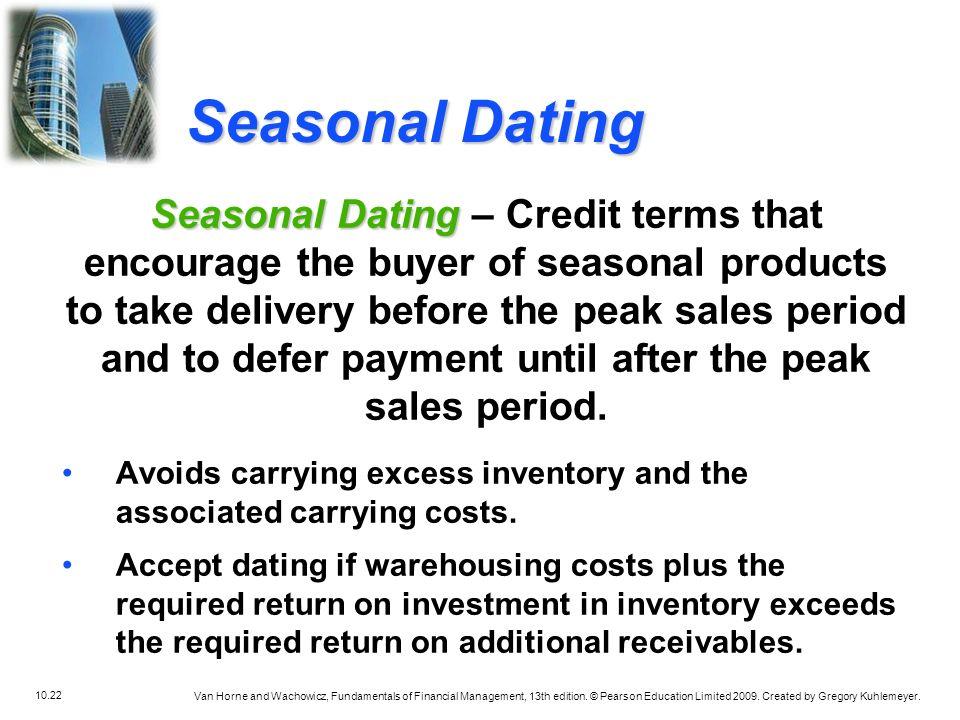 seasonal dating finance
