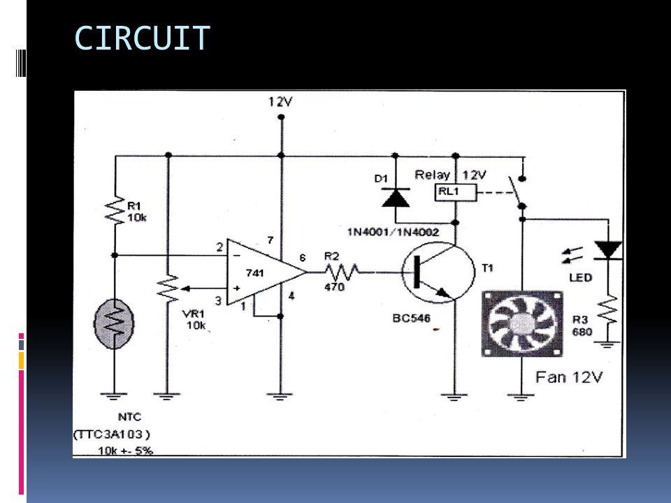 automatic temperature control fan temperature control