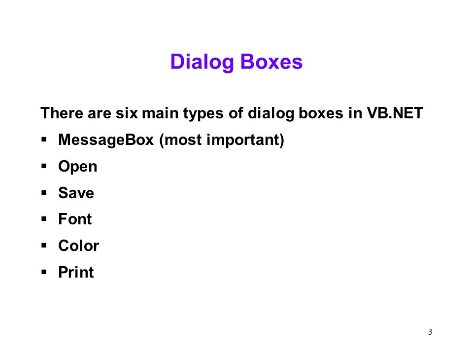 1 Displaying Dialog Boxes Kashef Mughal  2 Midterm Stats