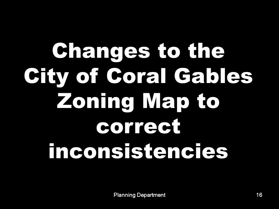 Planning Department1 Presentation Of The Proposed Zoning Code City