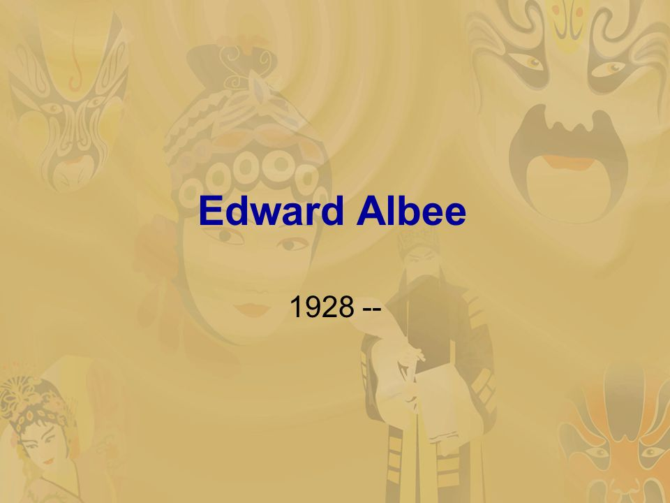 the sandbox edward albee