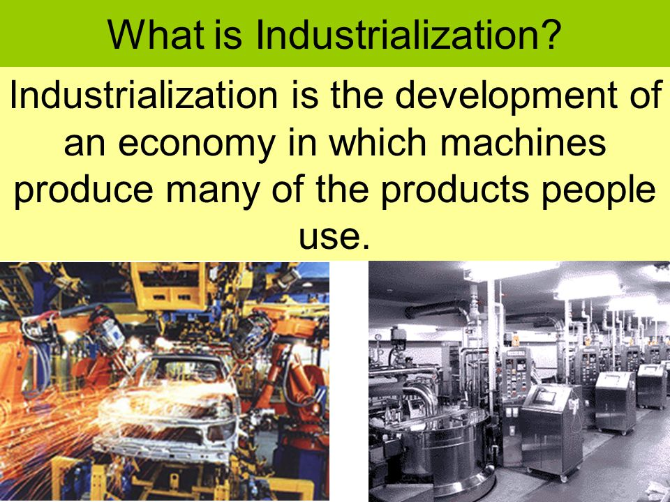 industrialization and environment