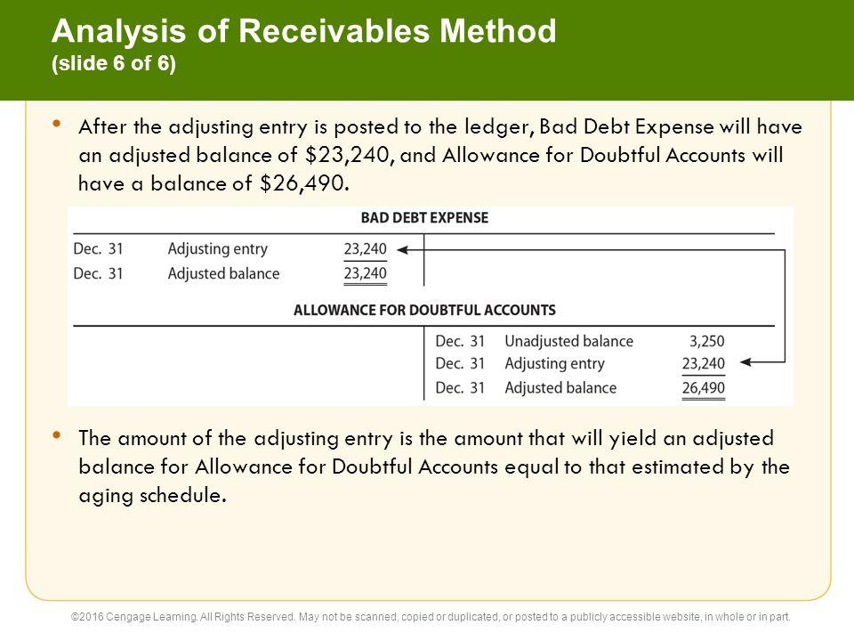 Warren Reeve Duchac Accounting 26e Receivables 9