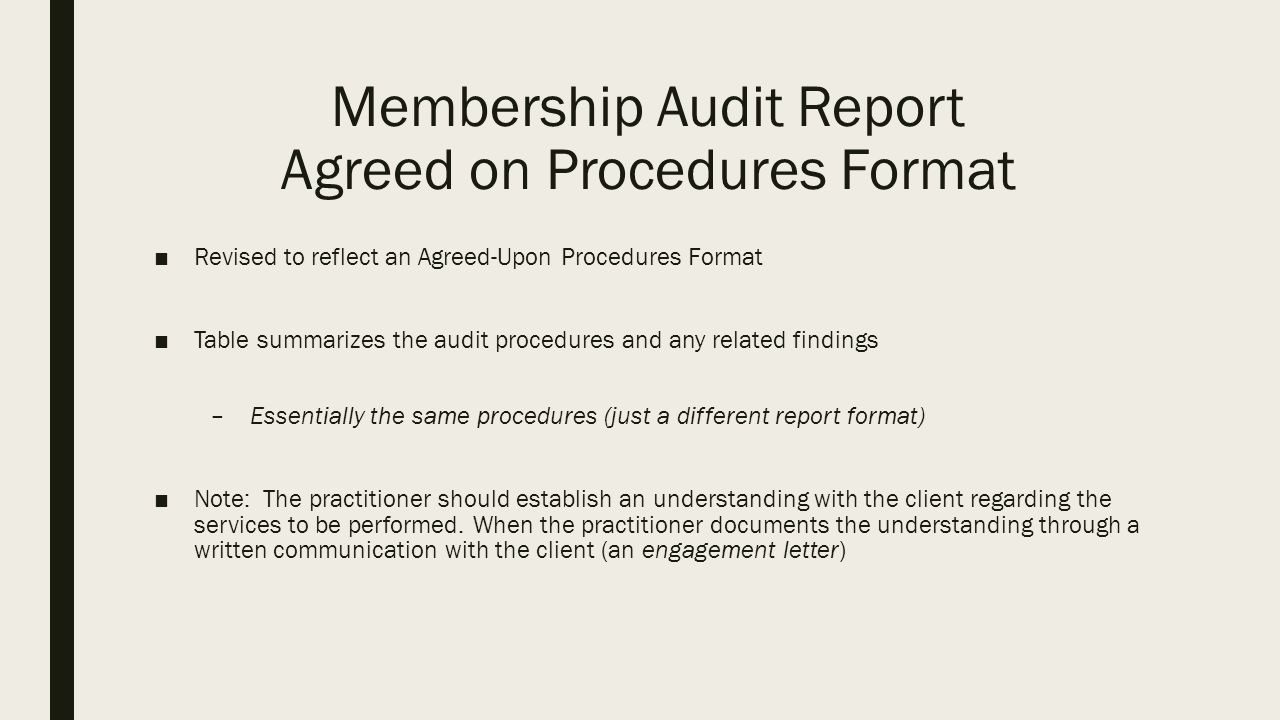 Membership Audit Session Brian Kahl Cpa School Finance Auditor