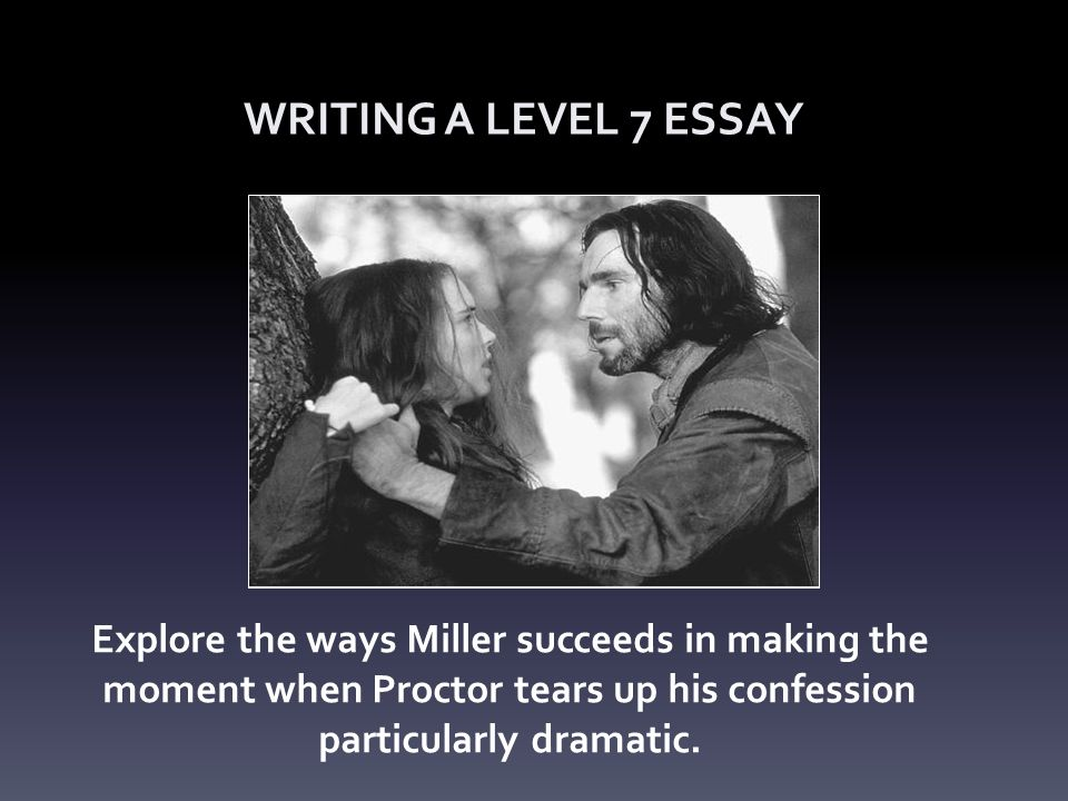 Essays On Science Fiction  The Crucible Writing A Level  Essay Explore The Ways Miller Succeeds In  Making The Moment When Proctor Tears Up His Confession Particularly  Dramatic Essay About Healthy Diet also Proposal Essay Topic The Crucible Writing A Level  Essay Explore The Ways Miller  Business Cycle Essay
