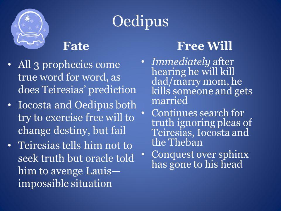 oedipus free will