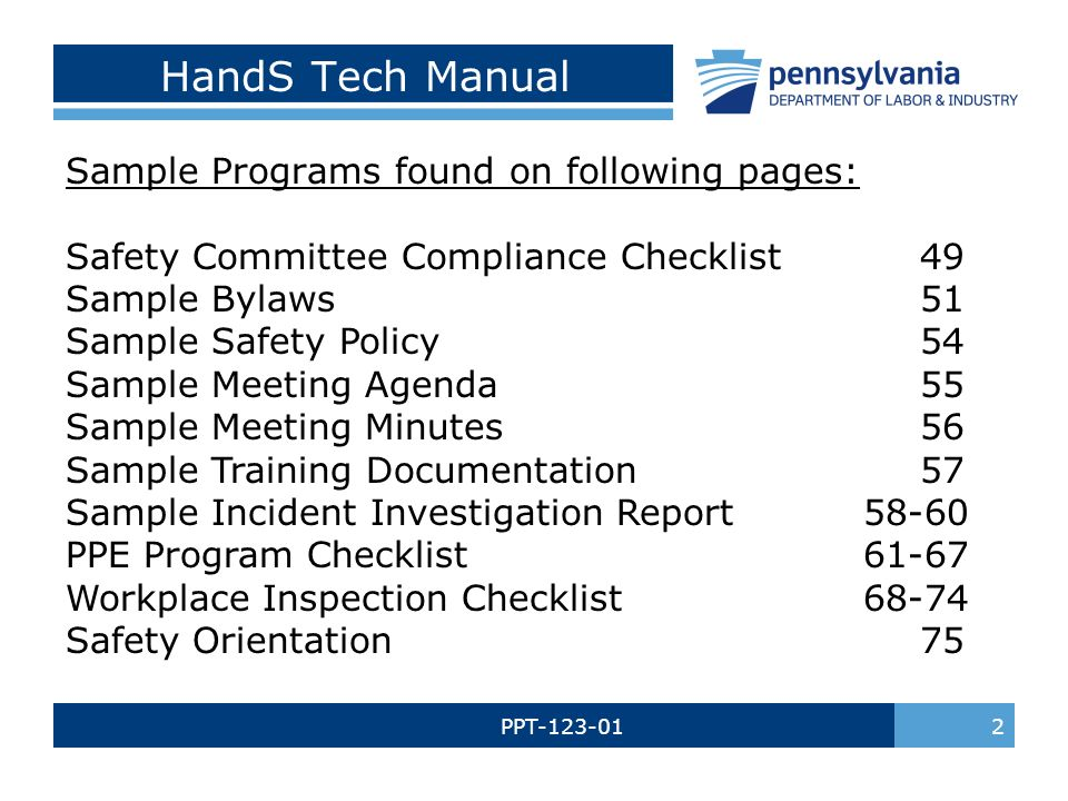 PPT WORKPLACE SAFETY COMMITTEE Re-Certification Training. - ppt download