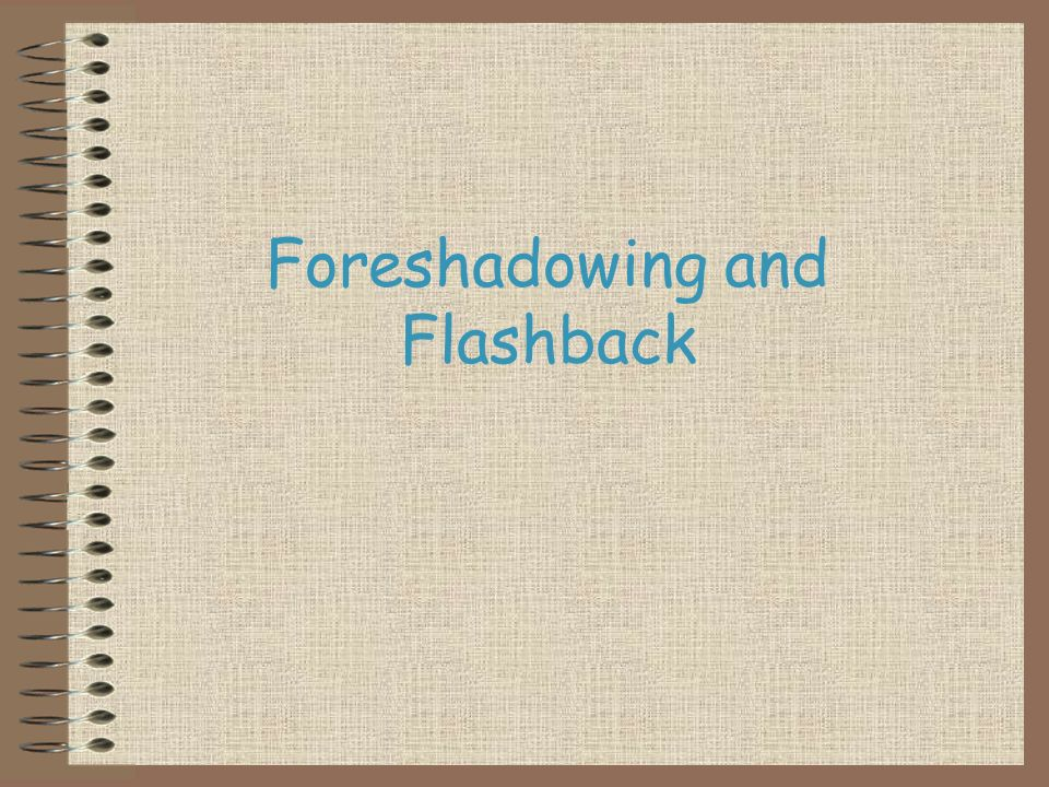 Foreshadowing And Flashback What Is. 1 Foreshadowing And Flashback. Worksheet. Foreshadowing Worksheets At Clickcart.co