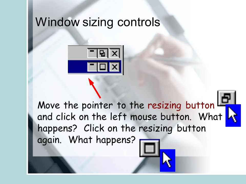 Microsoft Word  Pointer or Cursor Move your mouse and watch your
