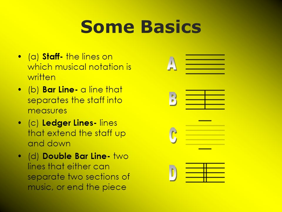 Music Symbols And Notation Music Class Mr Ibarra Ppt Download