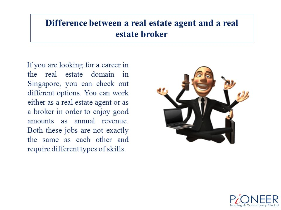 If You Are Looking For A Career In The Real Estate Domain In