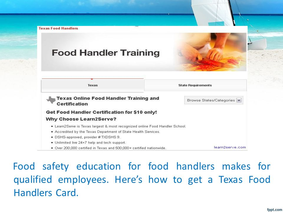 Summer To Do Getting A Tx Food Handlers Card By Zai Estabillo