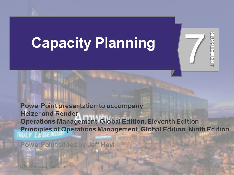 S7 1 Capacity Planning PowerPoint Presentation To