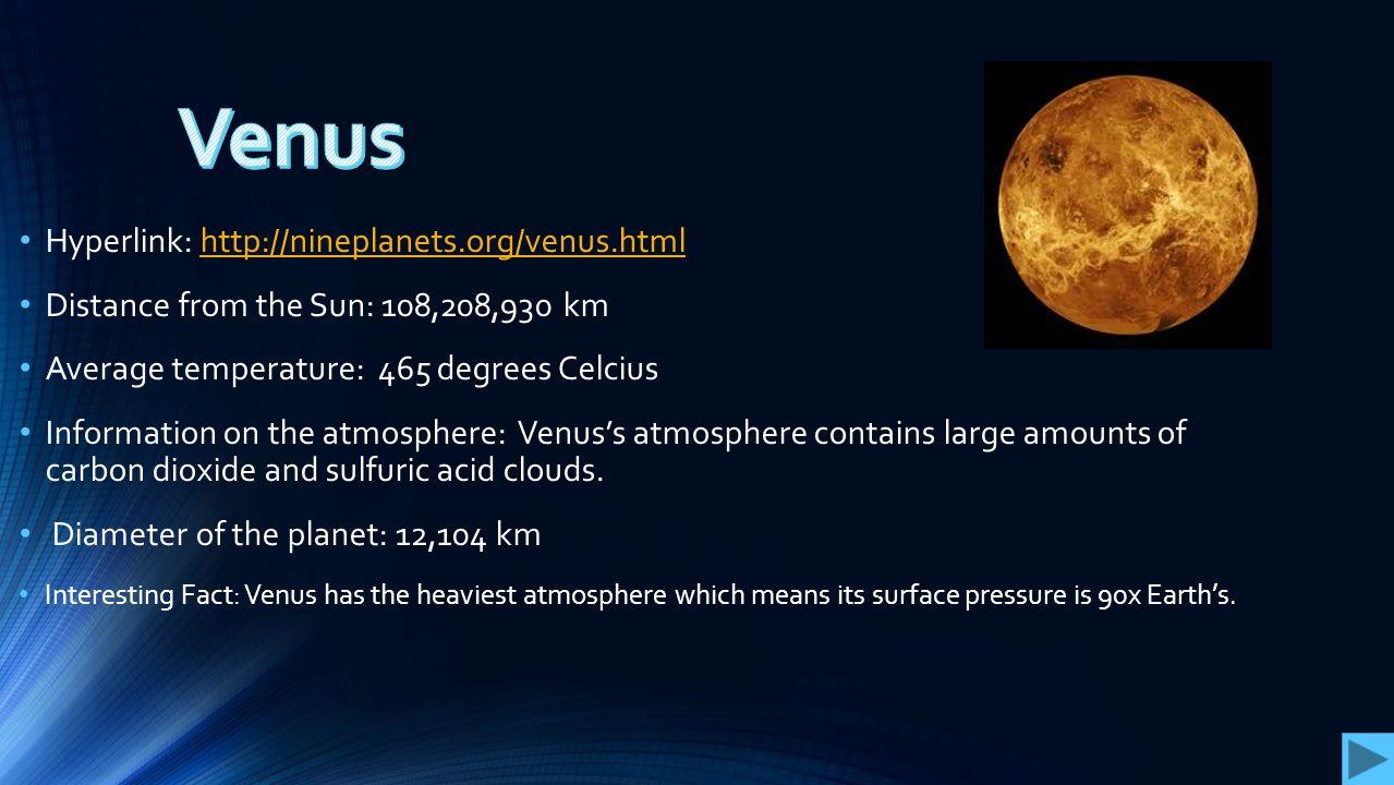 venus planet facts - 1279×720