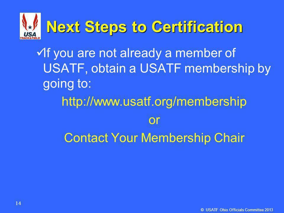 1 Usatf Ohio Association Officials Committee Usatf Ohio Association