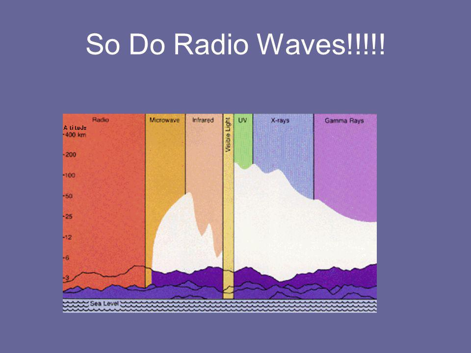 So Do Radio Waves!!!!!