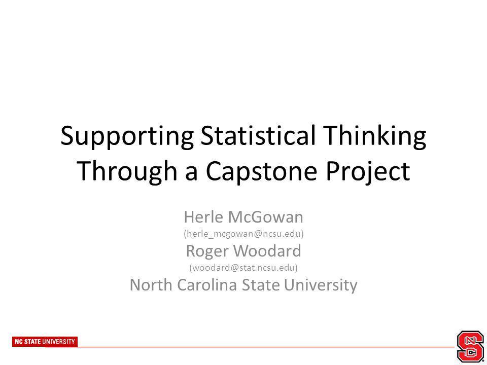 ncsu capstone project
