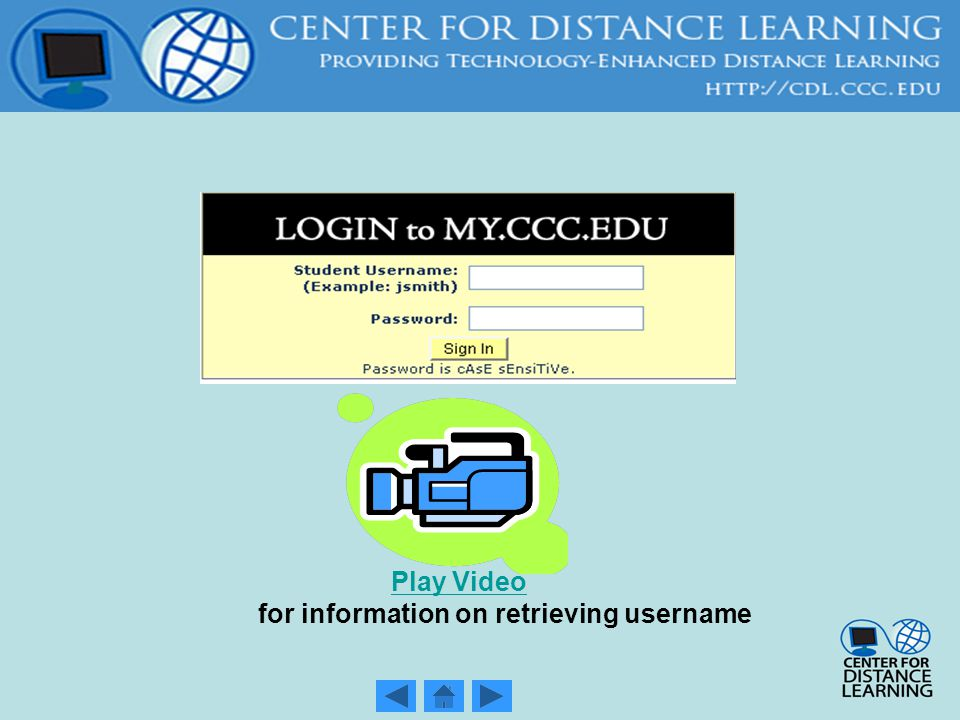 Cdl Student Orientation First Time Online Student Returning Student