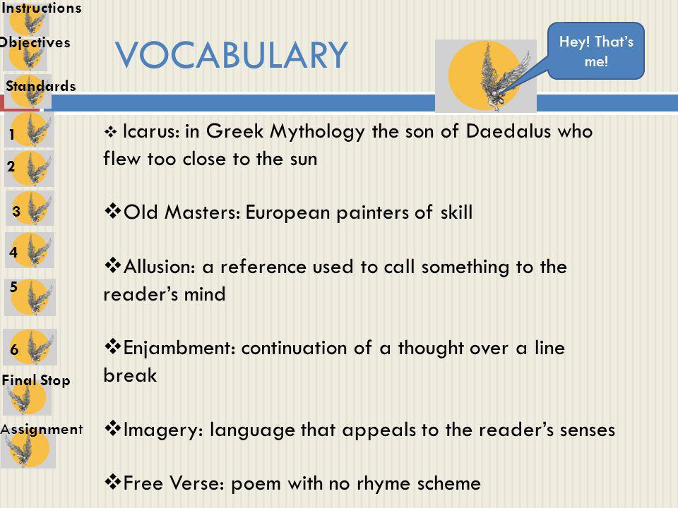 icarus poem analysis