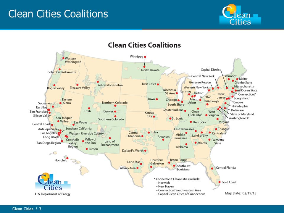 Clean Cities / 3 Clean Cities Coalitions