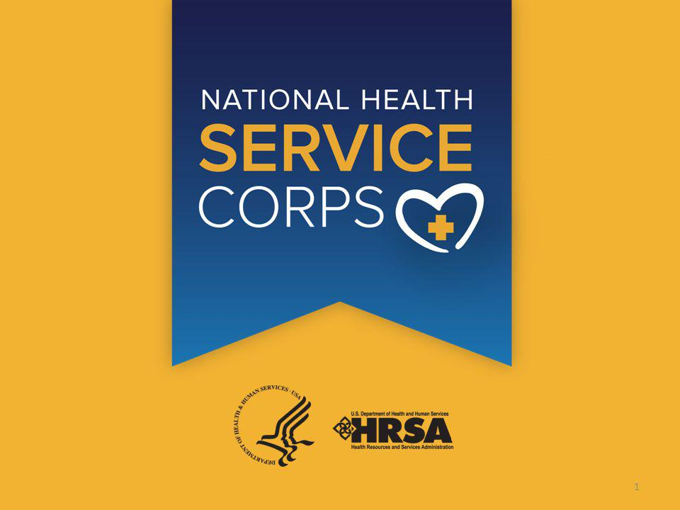 NATIONAL HEALTH SERVICE CORPS 1