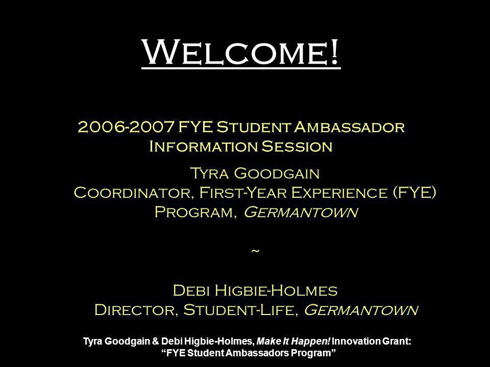 Tyra Goodgain & Debi Higbie-Holmes, Make It Happen.