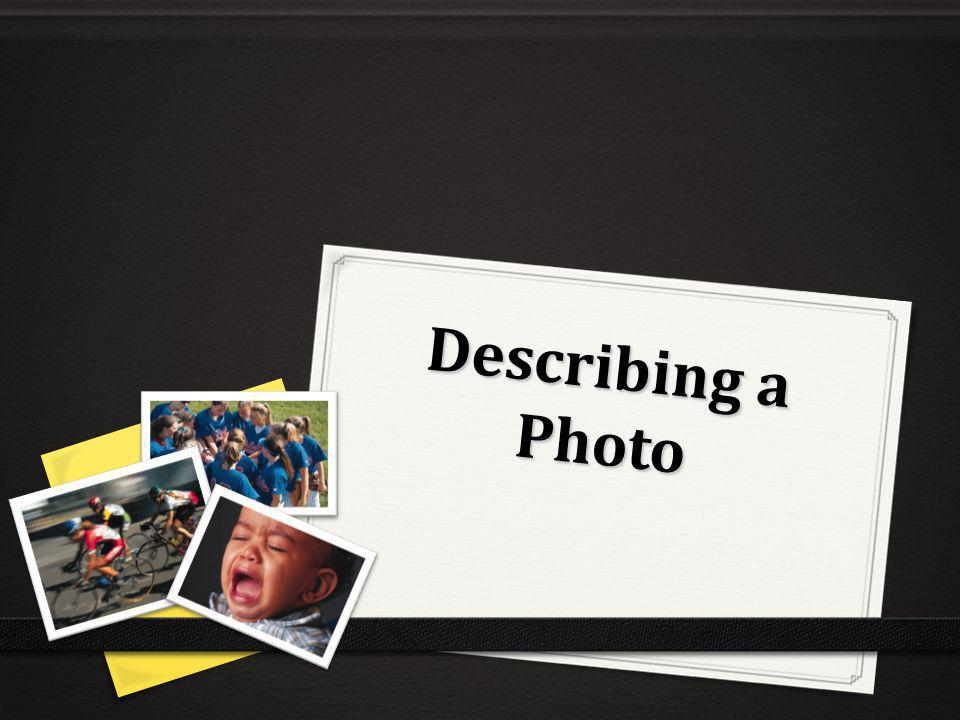 Describing a Photo
