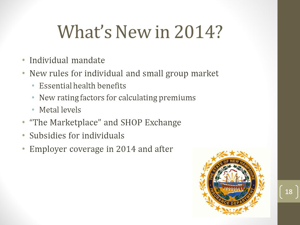 Whats New in 2014.
