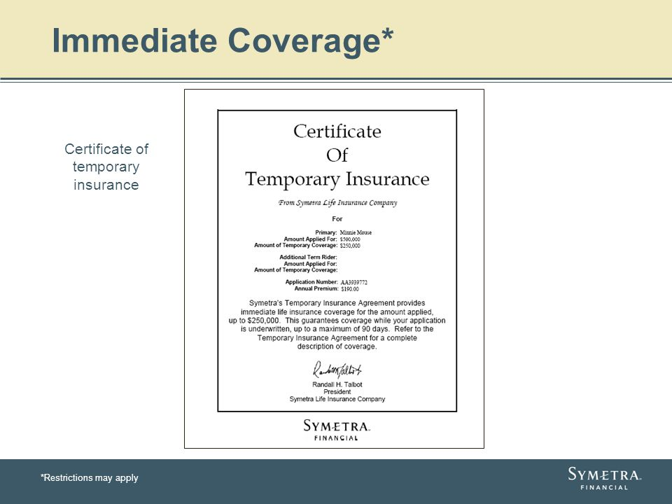 Presented By Symetra Life Insurance Company Redmond Washington