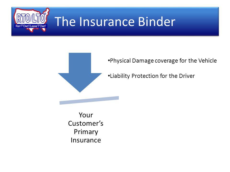 5 the insurance binder
