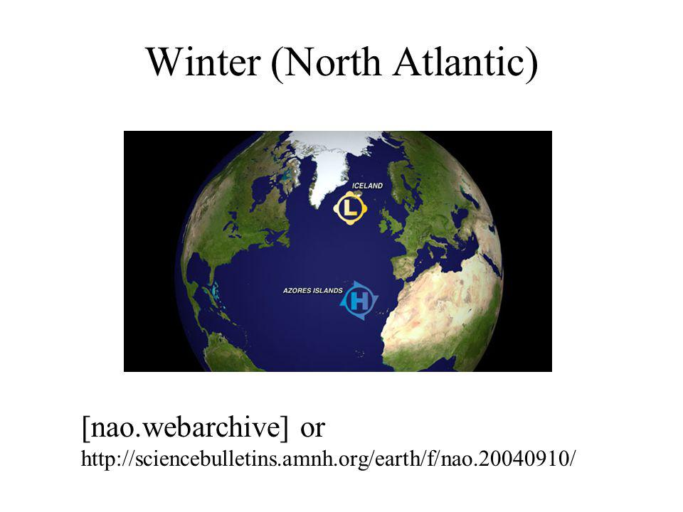 Winter (North Atlantic) [nao.webarchive] or