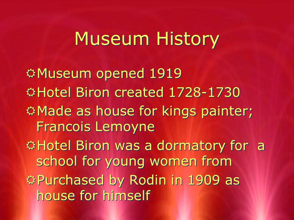 Musee Rodin Presented By Steven Varshavsky And Corey Glassman Muse