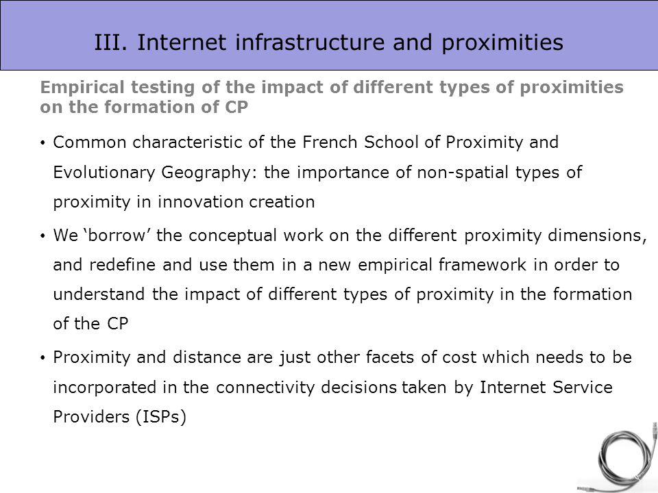 the geography of the internet tranos emmanouil