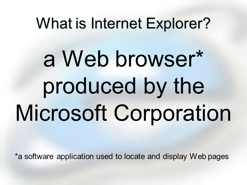 the Internet browser of choiceVidor ISD