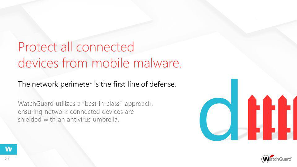 Protect all connected devices from mobile malware.