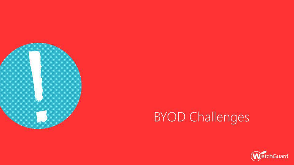 BYOD Challenges !