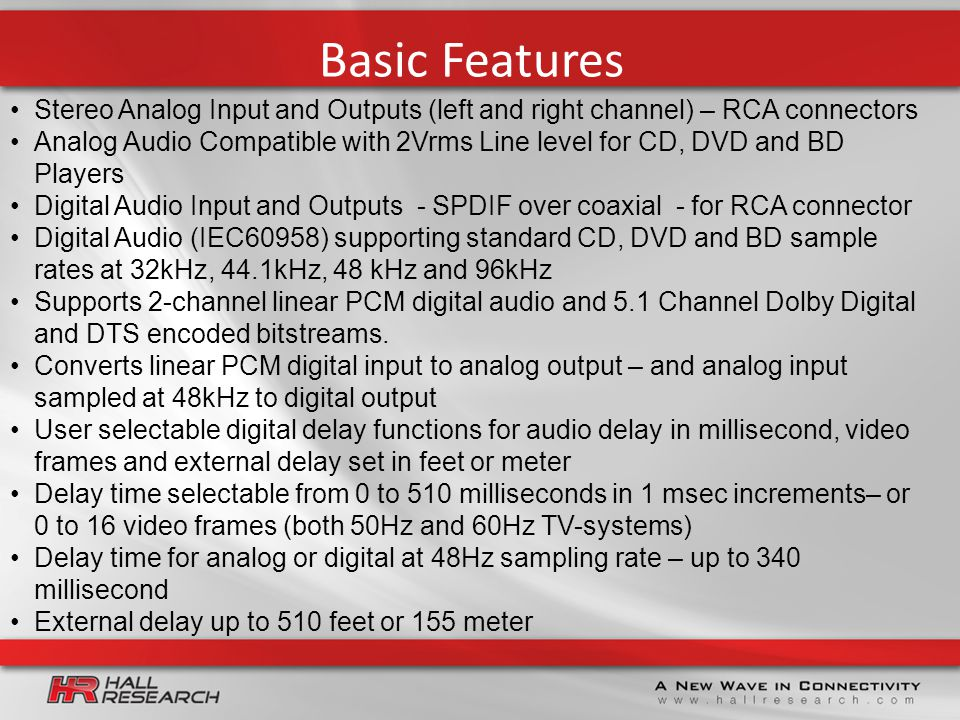 AD-340 Universal Audio Delay Processor Compatible with
