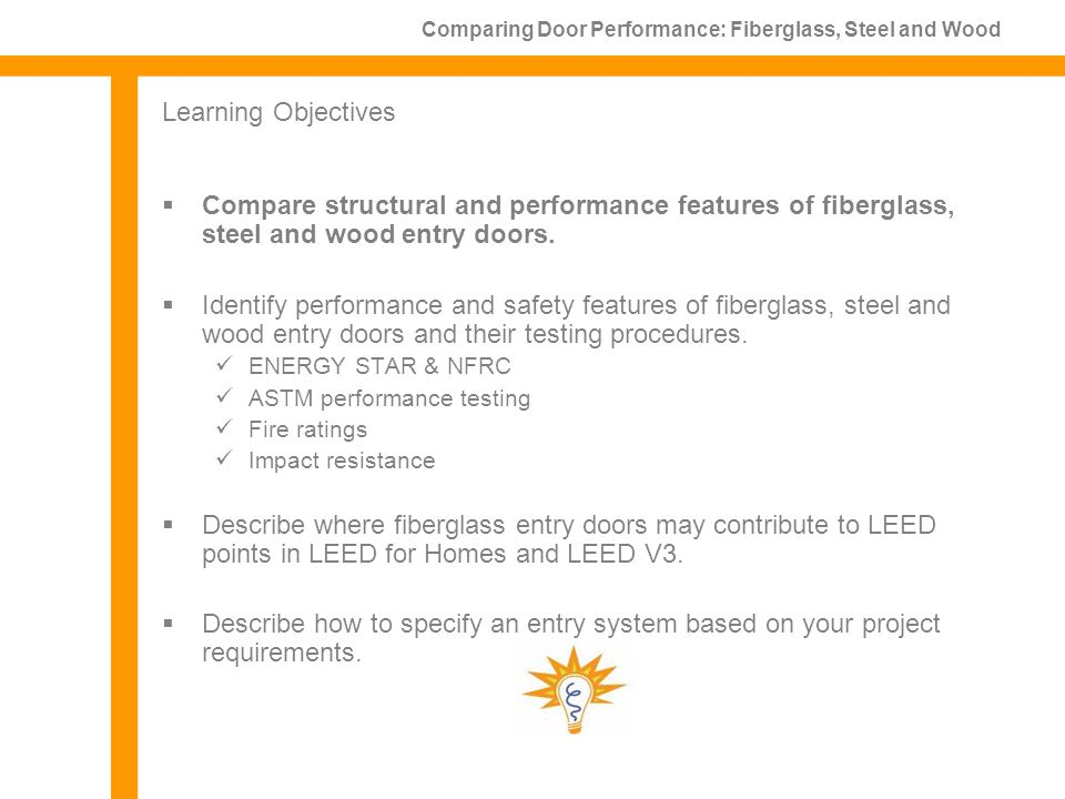 Comparing Performance Of Fiberglass Steel And Wood Entry Doors 1 Lu