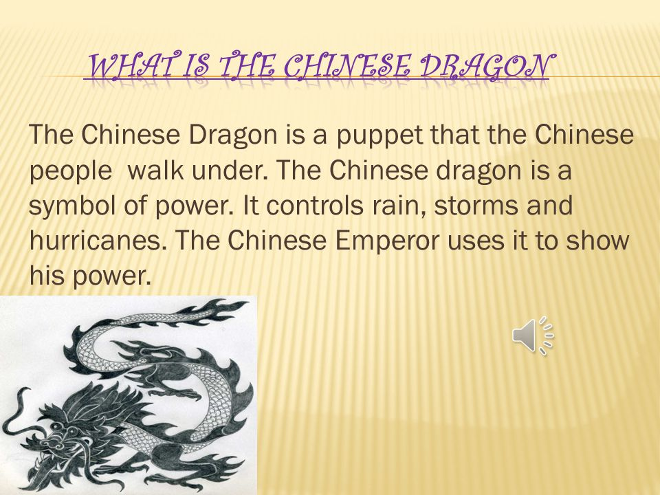 By Jacob Golden The Chinese Dragon Is A Puppet That The Chinese