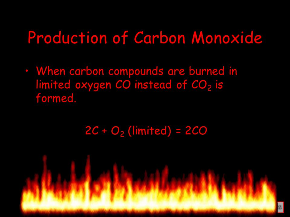 Properties of Carbon Monoxide Carbon monoxide is an odourless, tasteless and colourless gas.