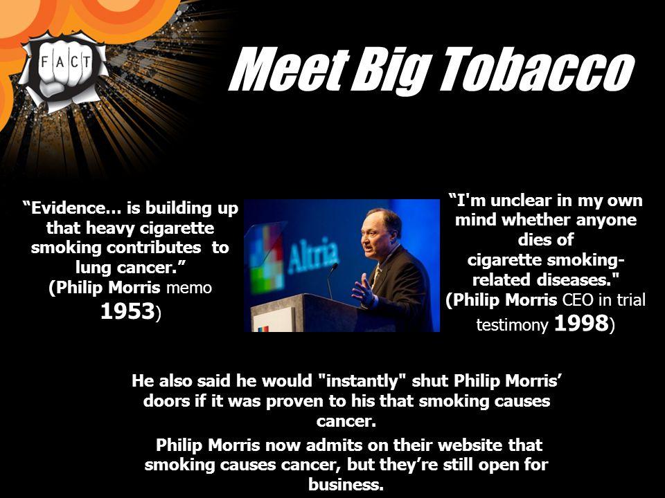 Image result for philip morris cancer