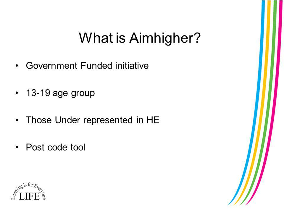 What is Aimhigher.